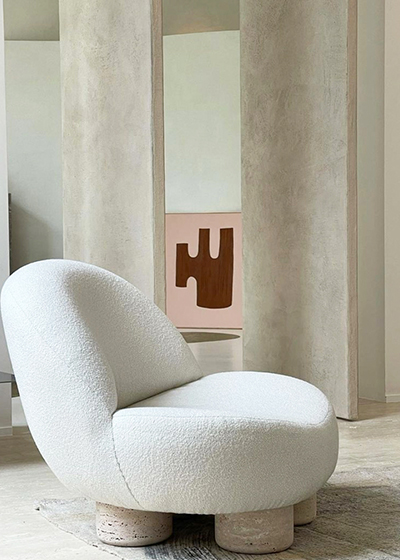 Hygge Collection is inspired by contemporary architecture in Portugal that Speaks of its Romanesque past by honoring the antiques geometris, such as the arch and the column.